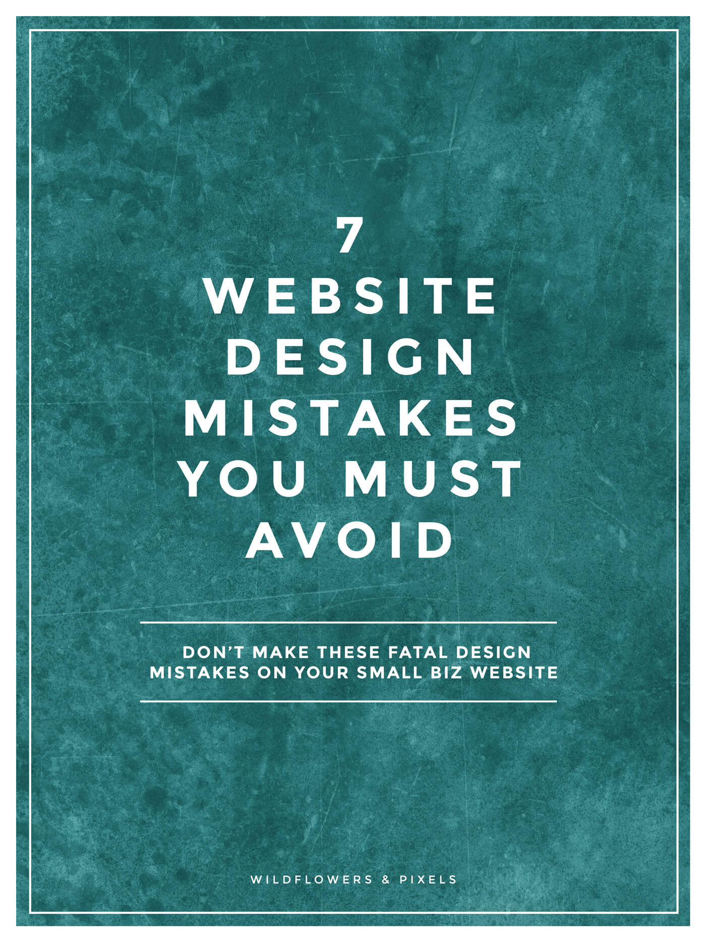 7 Design Mistakes To Avoid In Your Hall: 7 Website Design Mistakes You Must Avoid
