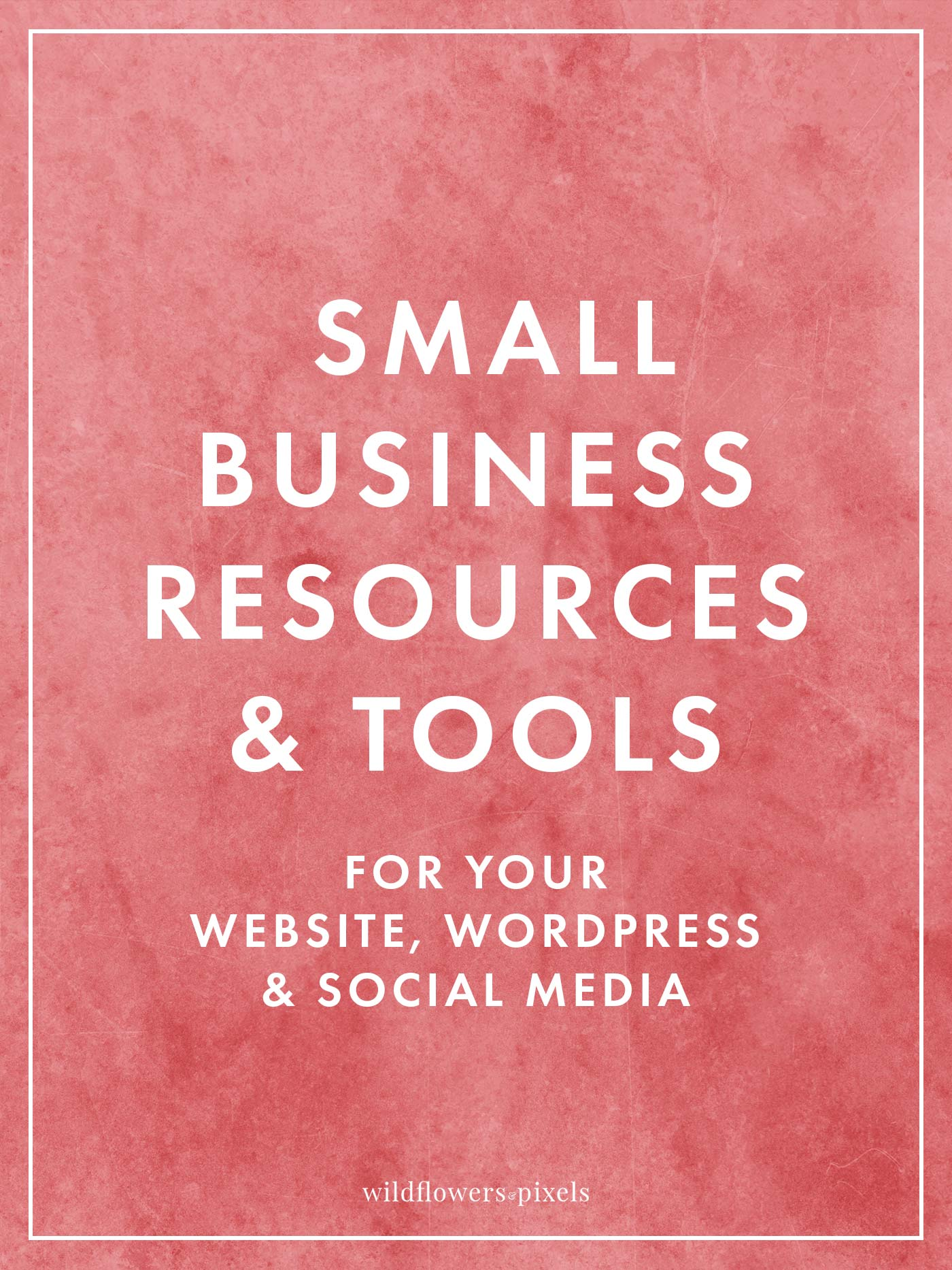 The best small business resources & tools for your website, WordPress & social media. Helping you to run your business more efficiently & allowing you to save time and money.