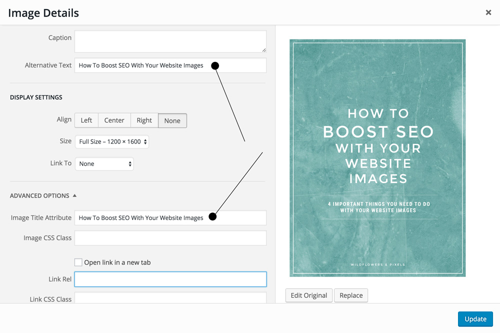 How To Boost SEO With Your Website Images ALT text Example In WordPress