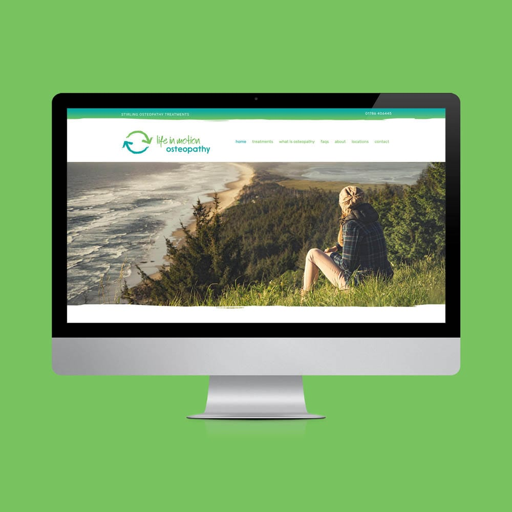 Website design Stirling for small businesses