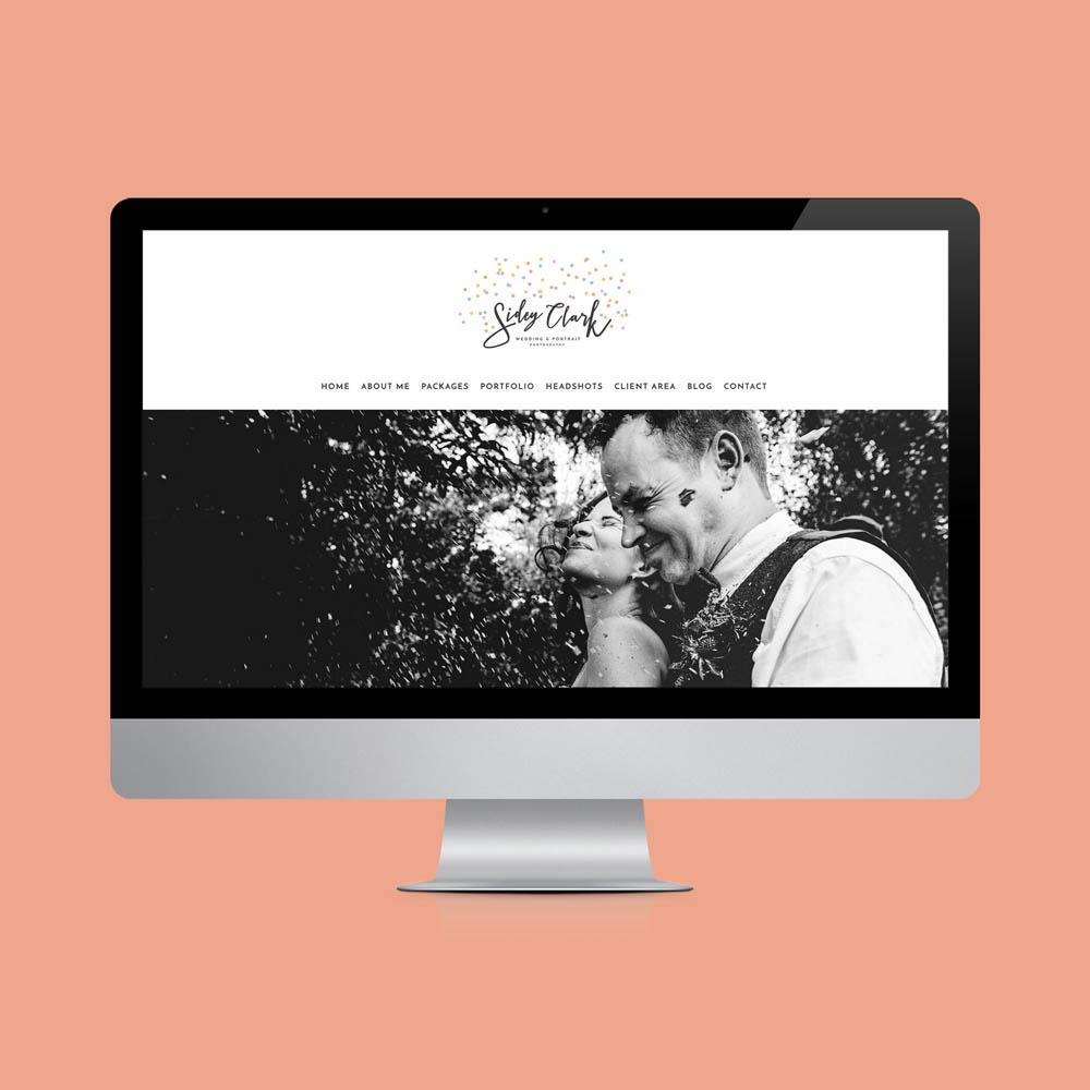 Website design London for wedding photographers