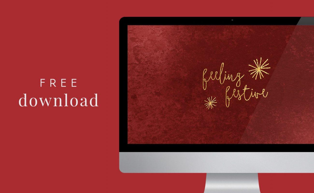 Feeling  Festive – Free Christmas Wallpaper