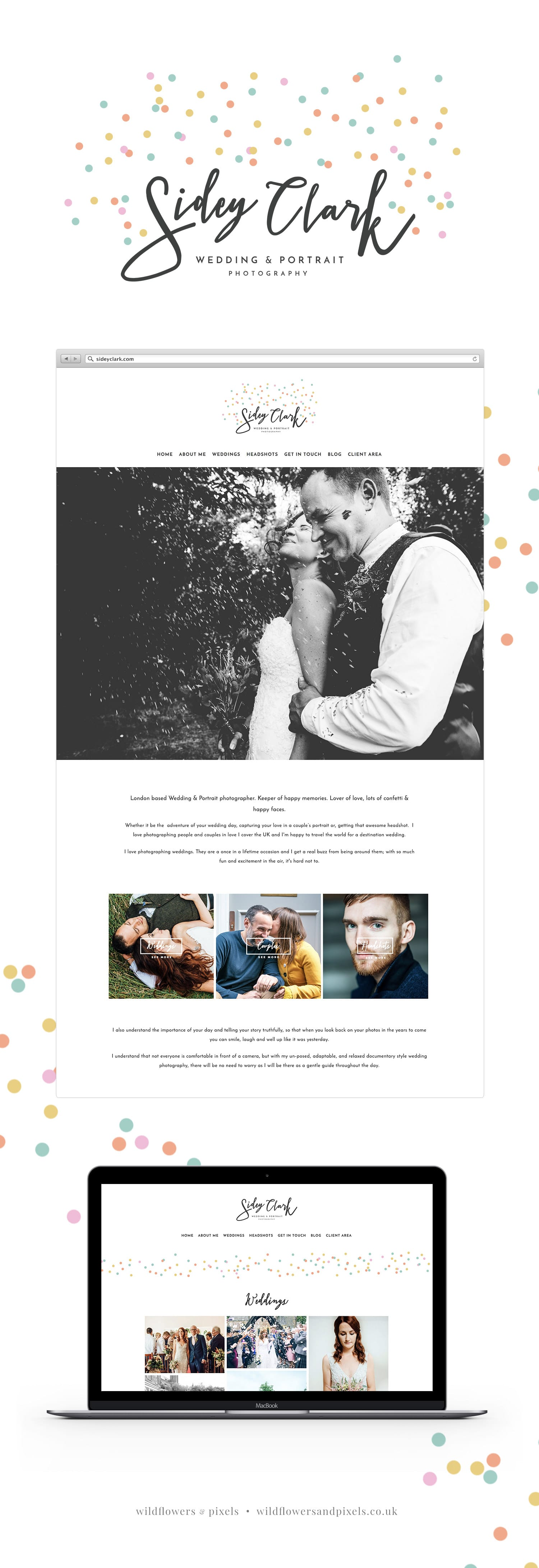 Branding & Website Design for Sidey Clark Photography | Wedding Photography Branding