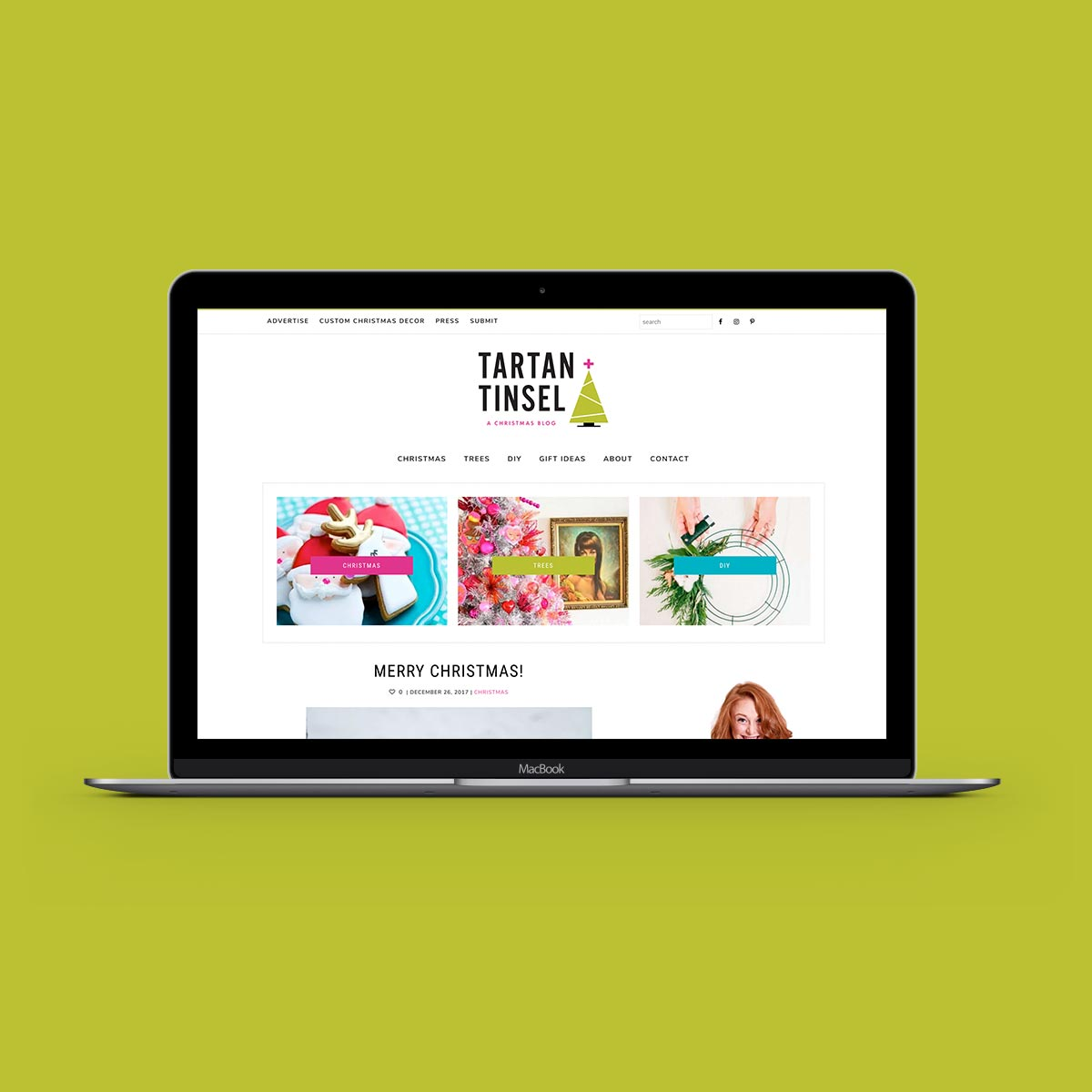 Small-Business-Blog-Design-UK-Christmas-Website